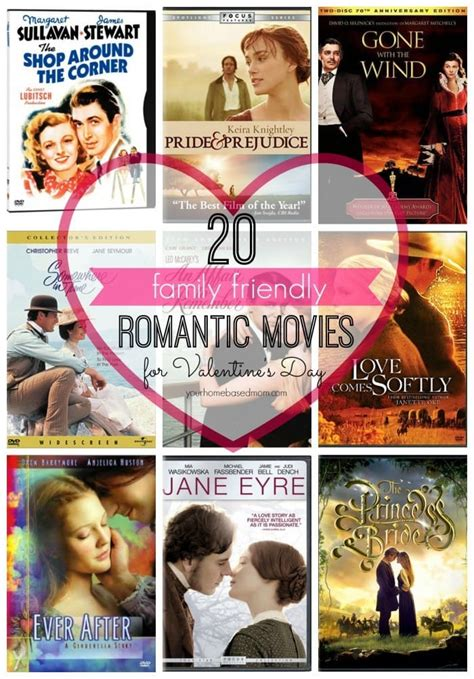 valentine movies 20 family friendly romantic movies for valentine s day