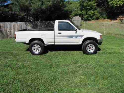 1992 Toyota 4x4 For Sale Purchase Used 1992 Toyota Truck 4x4 Reg Cab 22re M T Alum