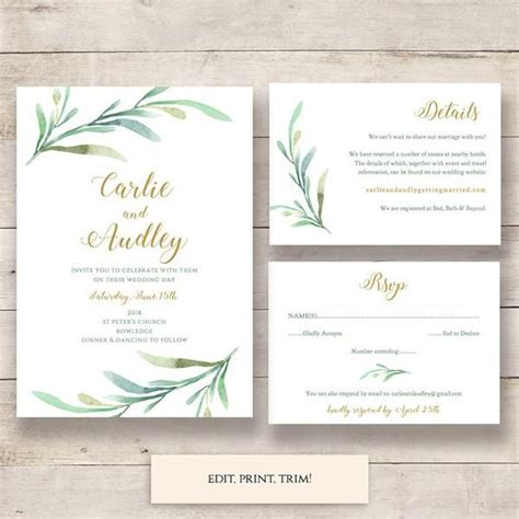 rsvp cards templates sheet printable multiples 17 best ideas about invitation set on wedding