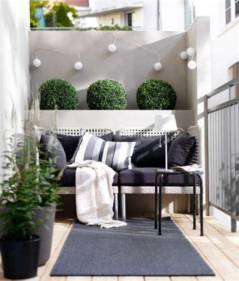 tiny ikea balcony decor ideas picture of modern balcony decor with cute little shrubs