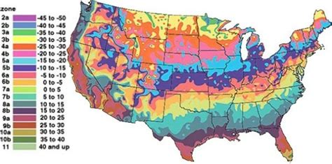 heat l for plants usda plant hardiness zones thriftyfun
