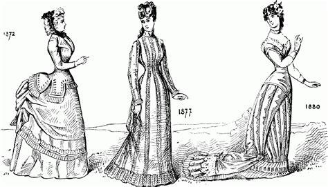 Vintage Dress Coloring Page | el azote de los famosos recorrido por la moda de todos