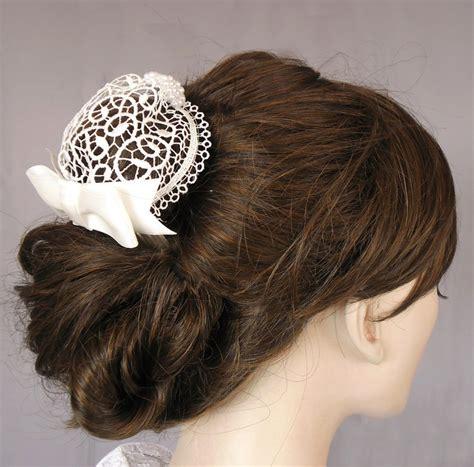 Mini Headpiece Handmade Satin Cokelat 29 best snoods images on snood scarfs and hair nets