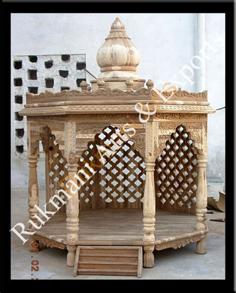code 9 wooden carved teakwood temple mandir furniture