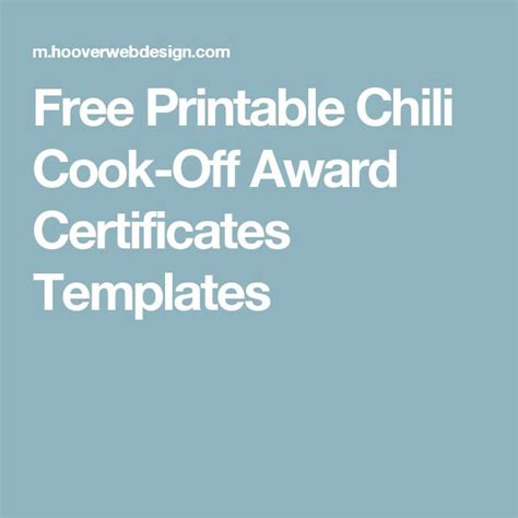 chili cook award certificate template 1000 images about company picnic ideas on