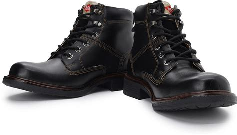 mens boots in india cooper boots buy black color cooper