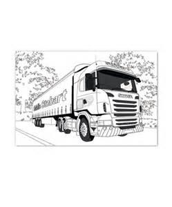 free coloring pages of eddie stobart trucks