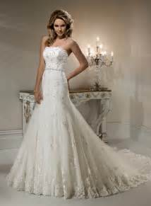 A Line Wedding Dresses Beautiful Photos Of Lace A Line Wedding Dresses For Classical Look Cherry Marry
