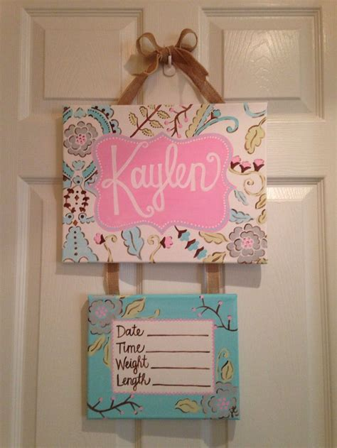 57 best images about baby hospital door hanger on