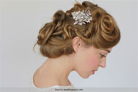 Vintage Wedding Hairstyles How To by Stunning Vintage Hairstyles For Weddings In Summer