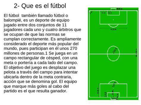 preguntas basicas sobre futbol el f 250 tbol el f 250 tbol y sus reglas