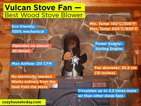 vulcan wood stove fan top 5 non electric best wood stove fans 2018 improve the