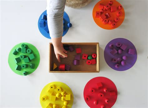 sort colors froebel education and learning with the teaching the