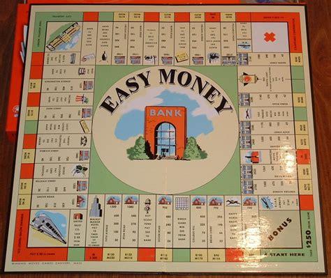 Win The Money Game - wm board win the money game