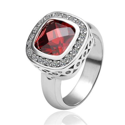 free shipping 18k gold plated ring jewelry nickel free plating platinum austrian swa