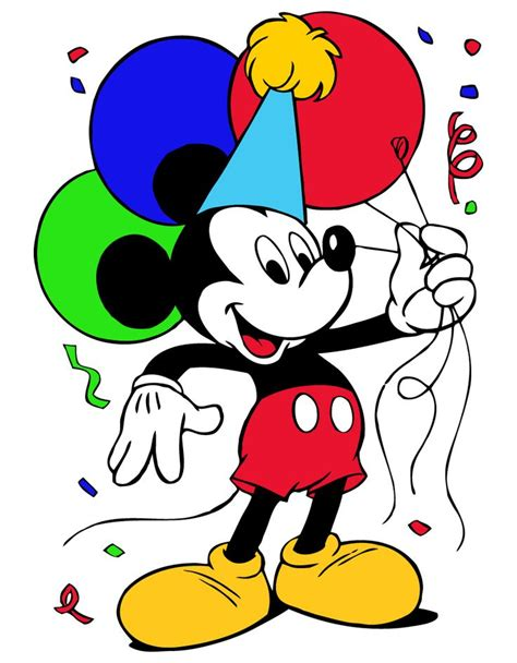 mickey mouse happy birthday images mickey mouse happy birthday clipart best
