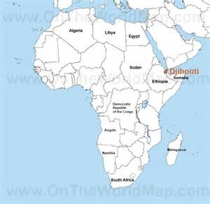 Djibouti Africa Map by Djibouti Africa Map Images