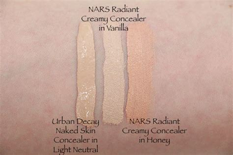 Decay Concealer comparing concealers the nars radiant vs