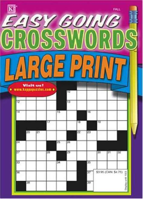 easy crossword puzzles subscription merchant discountmags com