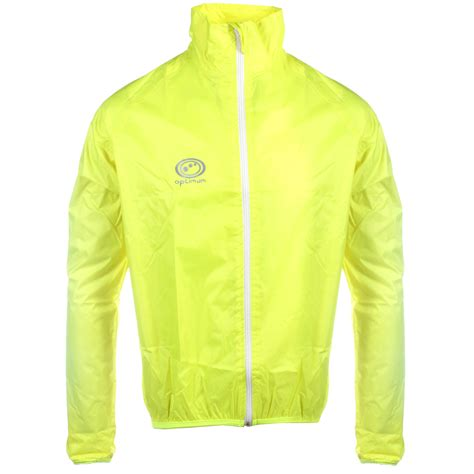 mens hi vis cycling jacket optimum mens lightweight hi vis rain jacket running
