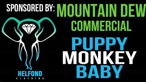 puppy monkey baby remix mountain dew puppy monkey baby ringtone and alert superbowl commercial remix