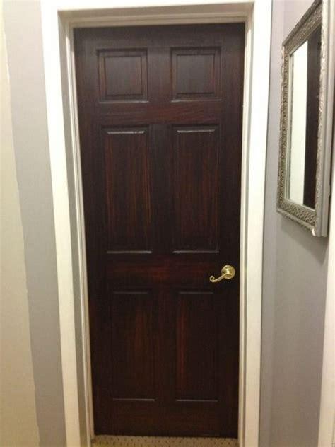 Stain Interior Door Diy Or Die General Finishes Java Gel Stained Doors Tutorial Diy Projects