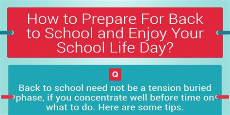 7 Ways To Prepare For Back To School by How To Prepare For Back To School And Enjoy Your School