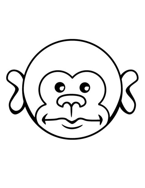 monkey coloring pages free printable pictures coloring printable pictures of monkeys az coloring pages