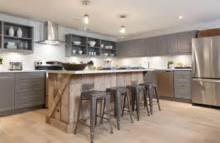 Wood Island Kitchen by Reclaiming Wood For Today S Modern Homes