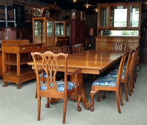 bargain johns antiques antique victorian oak dining
