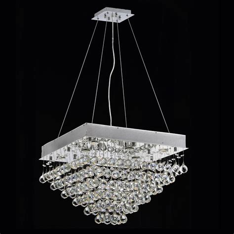 Chandelier Base Chandelier Lights Contemporary Lighting Dining Room K9 Durable Base Pyramid Square