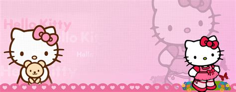 hello kitty wallpaper for lg e400 cartoon wallpaper and background image 2560x1008 id 174736