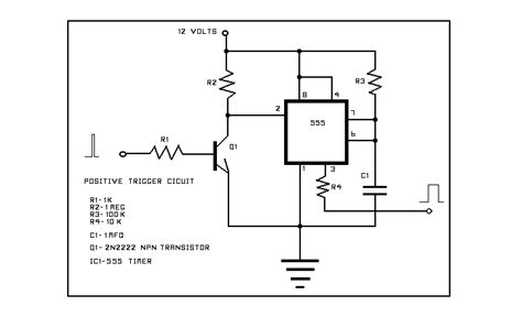 555 timer pull resistor 555 tutorial with circuits