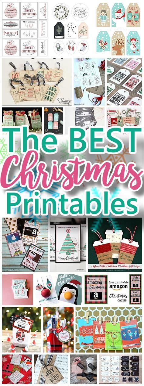 printable holiday season cards the best free christmas printables gift tags holiday