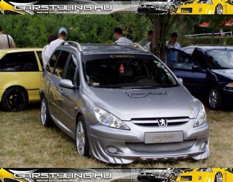 Auto Tuning Peugeot 307 Sw by Peugeot 307sw Tuning Peugeot307 Carstyling
