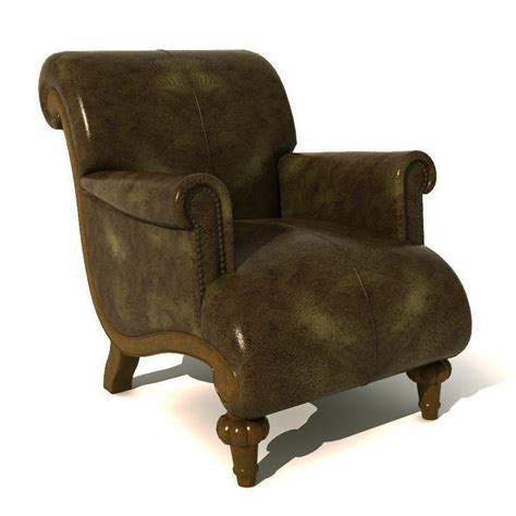 traditional armchair traditional armchair 05 3d model formfonts 3d models