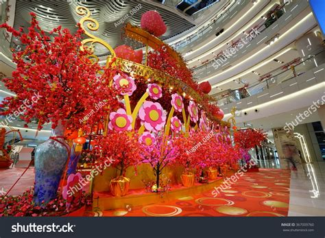 is new year just in china shanghai china jan 24 2016 interior of the luxury