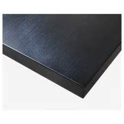 decke ikea linnmon table top black brown 100x60 cm ikea