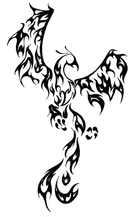 tribal pheonix tattoo 17 best ideas about tribal on