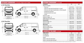 Vauxhall Vivaro Lwb Dimensions Vauxhall Contract Hire Hire Purchase Finance Lease