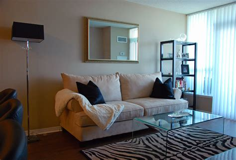 small condo decor contemporary living room toronto by dominika pate interiors