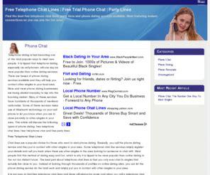 bestphonechatlinescom  telephone chat lines