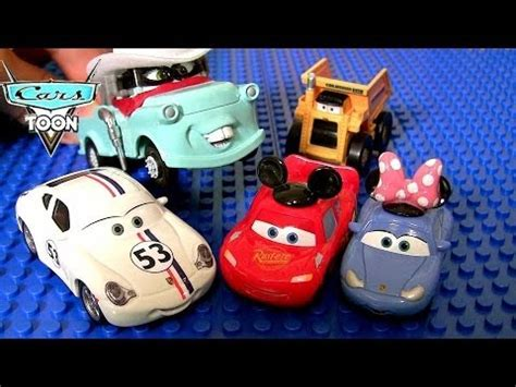 Sally Mini Adventure Cars Minnie Mouse pixar cars herbie 53 vw minnie sally apple icar