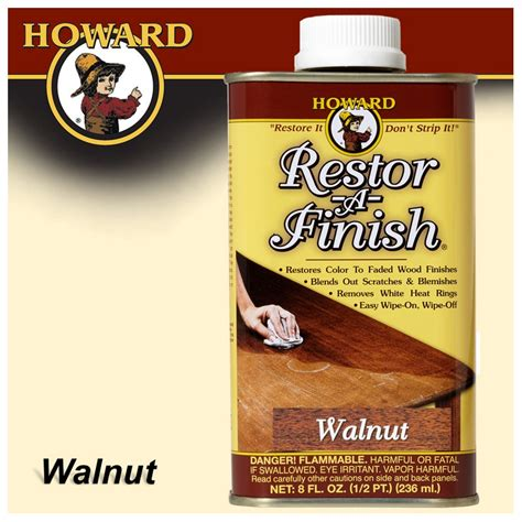 Screwdrivers Howard Restor A Finish Walnut 8 00 Fl Oz