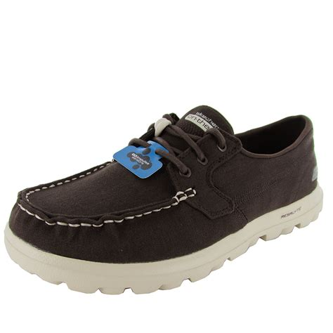skechers on the go boat shoes skechers mens 53563 on the go unite casual boat shoes ebay