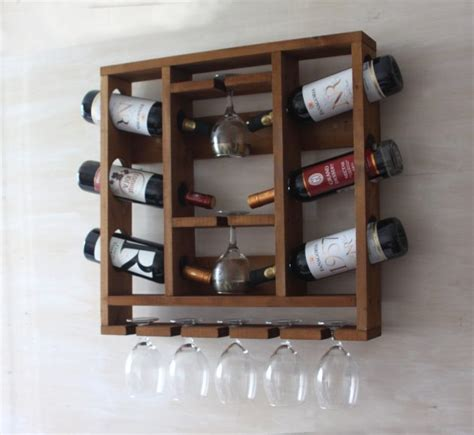 Handmade Wooden Wine Racks - 16 charming handmade wine rack designs for all of you wine