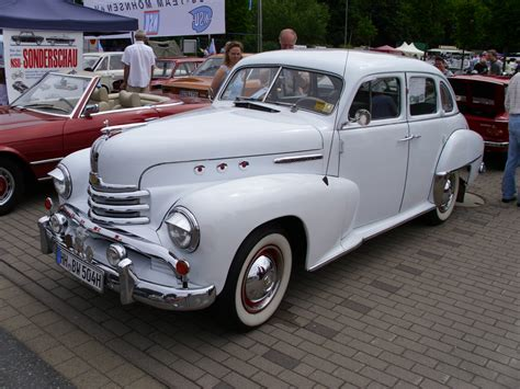 opel kapitan 1951 opel kapitan information and photos momentcar