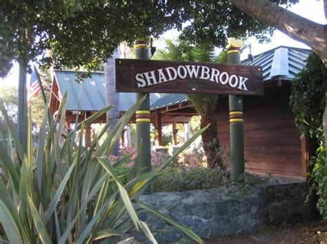 Shadowbrook Restaurant   Capitola, California   trolleybus stop
