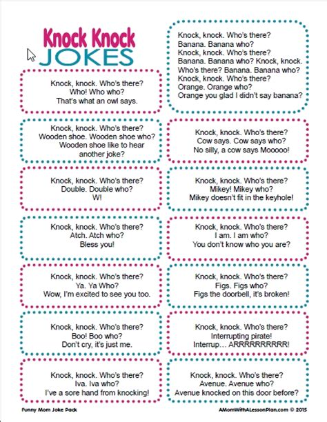 printable children s knock knock jokes knock knock jokes for kids funny knock knock jokes