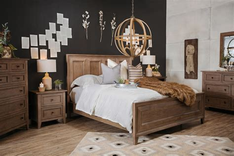 magnussen home talbot panel bed mathis brothers furniture